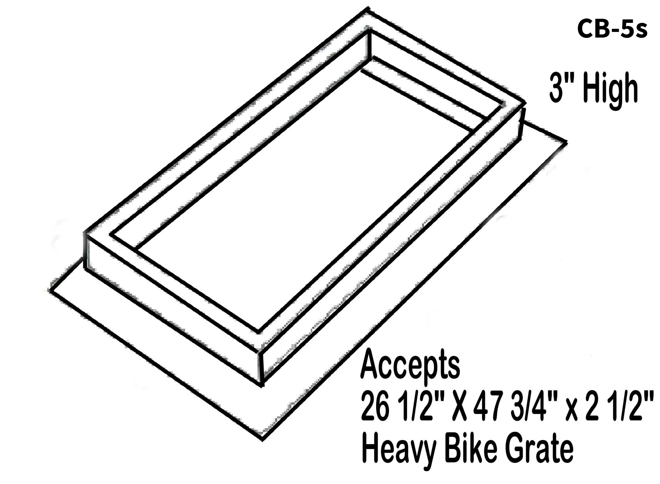 Heavy Bike Grate
