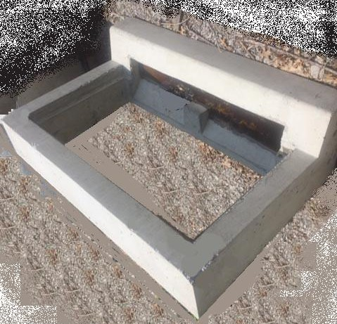 Type C Concrete Ring for 2x4 Catch Basin