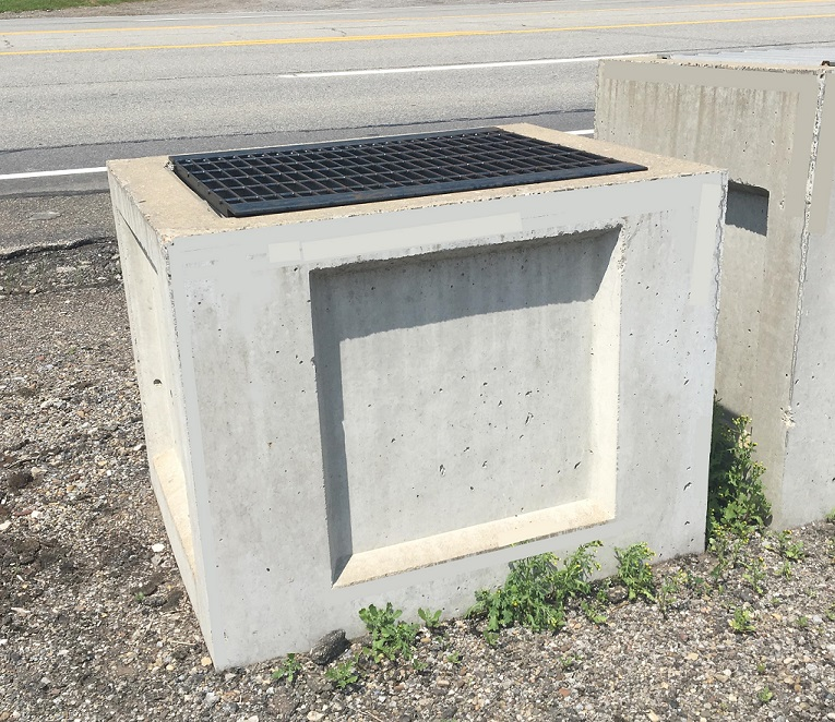 22x30x24&quot Catch Basins with Angle Grate